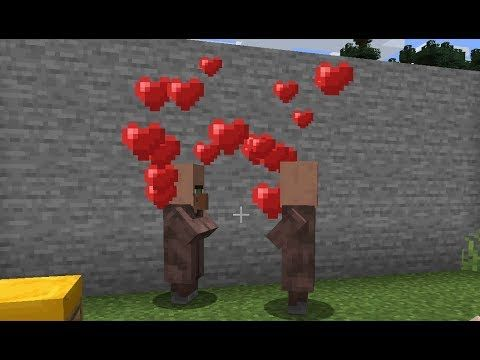 Minecraft How To Breed Villagers Minecraft Breeding Villagers Youtube In 2021 Breeds Minecraft Village