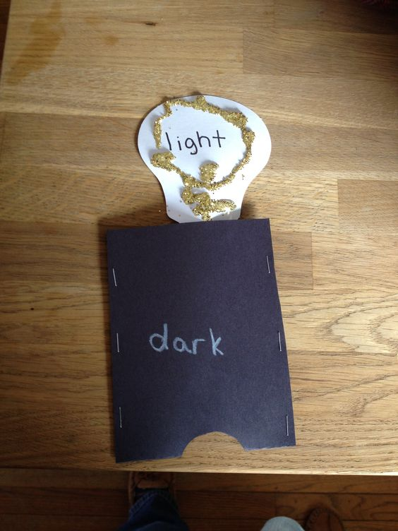 saltmeadowacademy Preschool craft opposites light and dark Visit ...