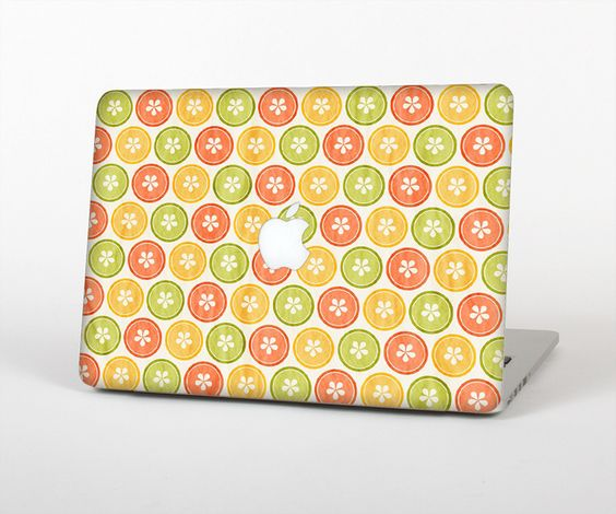 "The Vintage Color Buttons Skin Set for the Apple MacBook Pro 15"" with Retina Display from Design Skinz"