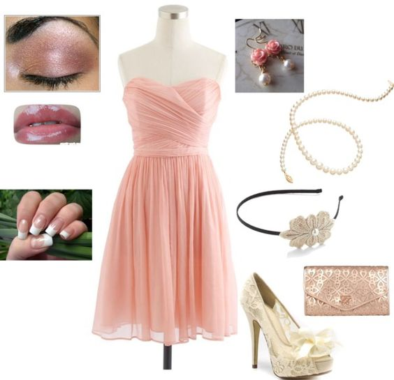 """""""Girlie glam"""" by alyssagalx on Polyvore"""
