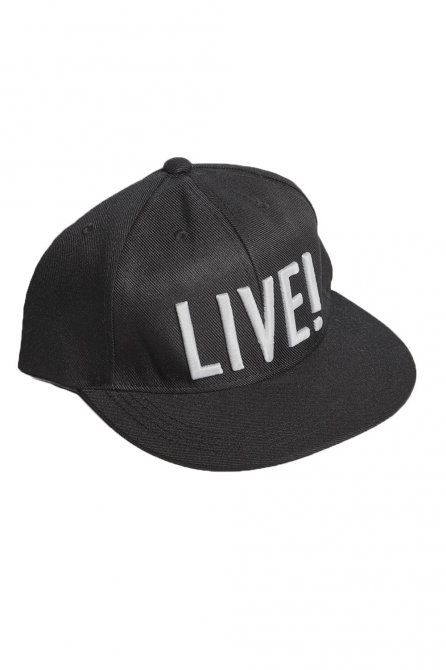 LIVE! Acessórios • Fitness • Boné Live! Rocks | #gym #accessories #fitness