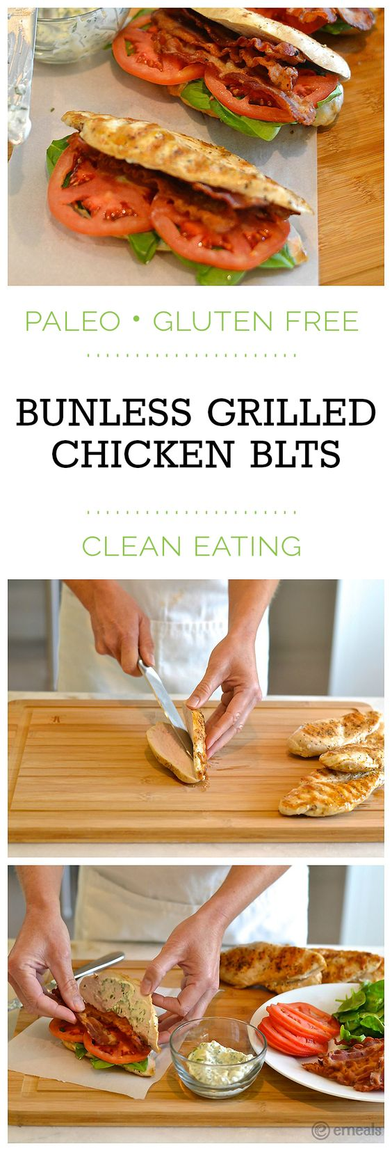 ... Paleo Chicken BLTs (with a seriously delicious basil mayo!) | eMeals