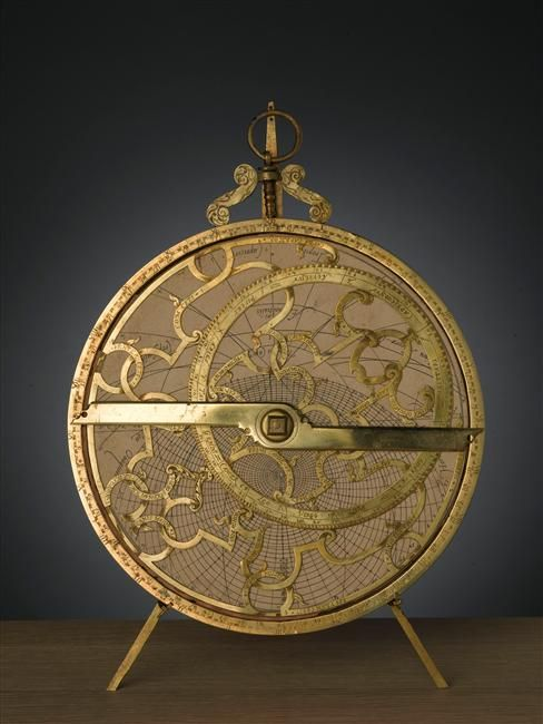 Astrolabe Planisphere, late 16th early 17th century Europe.