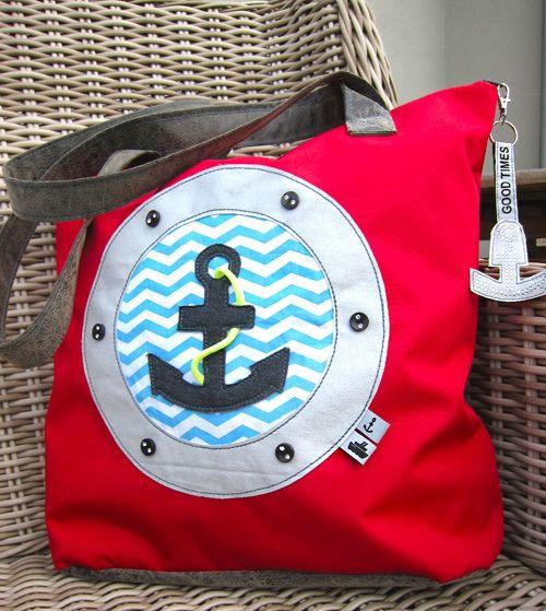 Tasche für Nähanfänger, Fotoanleitung auf der farbenmix - TASCHENSPIELER - CD