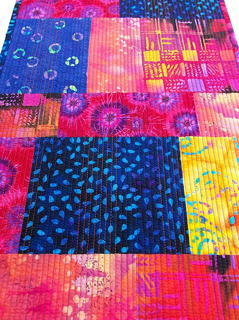 Batik Runner - Close Up | by BooDilly's