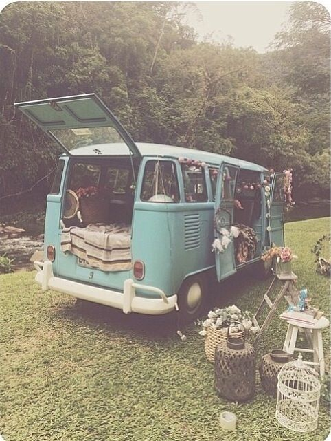 i would love to go camping with this Volswagen van