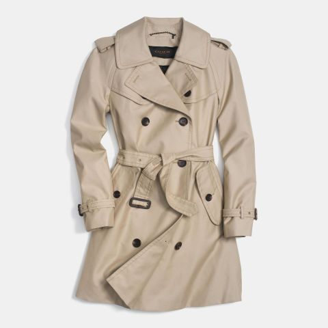 Trench coat. See why it's a closet must-have and shop it and 29 other trend-resistant pieces every woman should have by the time she's 30.: