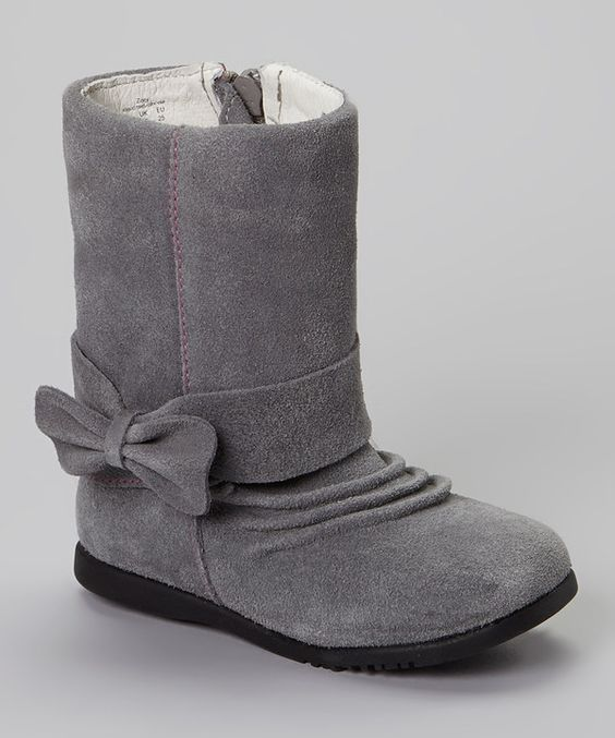 Look at this Gray Zoey Boot on #zulily today!