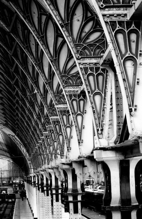 ~~ Paddington Station, London. England