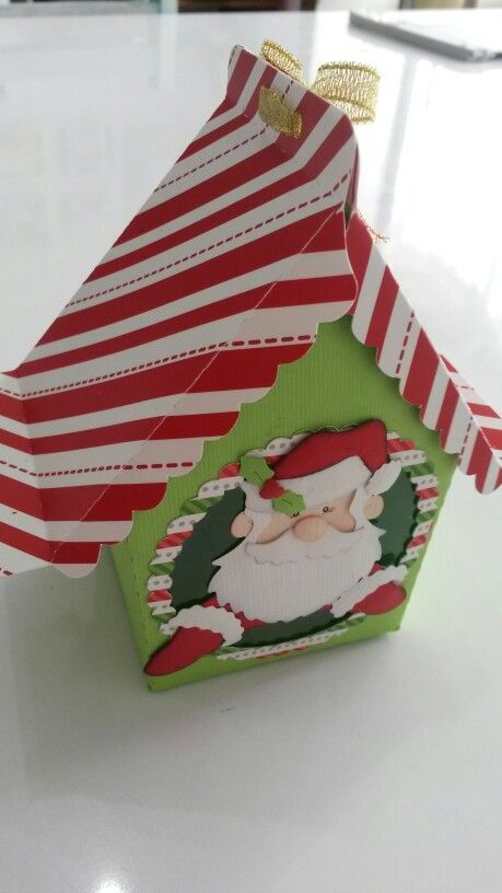 Caja Papa Noel