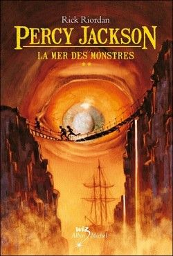 Couverture de Percy Jackson, Tome 2 : La Mer des Monstres