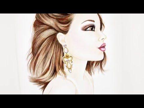 Topmodel Make Up Malbuch Frisur Von Fergie Malschule Youtube In 2020 Topmodel Wenn Du Mal Buch Models