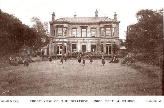 Liverpool 1920s Postcard - Bellerive Convent and School - Junior Department