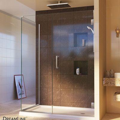 "DreamLine Unidoor Plus 30"" W x 32"" D Hinged Shower Enclosure"