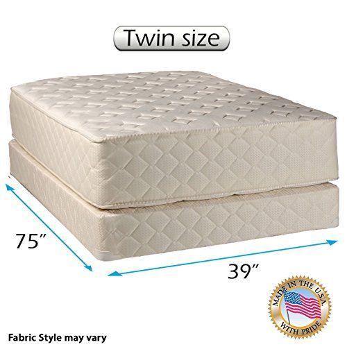Dream Sleep Highlight Luxury Firm Mattress Set With Bed Frame