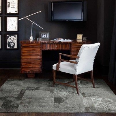 masculine home office with black walls faux concrete carpet something concrete carpet tiles in carpet tiles home office carpets