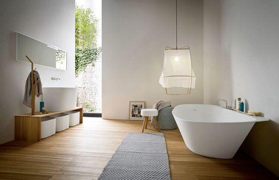 Ideas para decorar un baño moderno - http://www.decoora.com/ideas-para-decorar-un-bano-moderno-2/