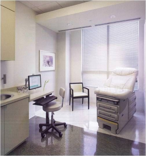 Workstation For EMR Entry   Sentara Family Medicine Physicians Exam Room By  Sentara Healthcare, Via Flickr | Clinic Design | Pinterest | Room, Medical  ...