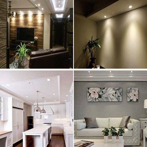 Lots 3w Spot Encastrable A Led Lumiere Encastre Plafond Lampe Chambre 3x1w 220v Ebay Homedecor Lumieres Encastrees Spot Encastrable Decoration Maison
