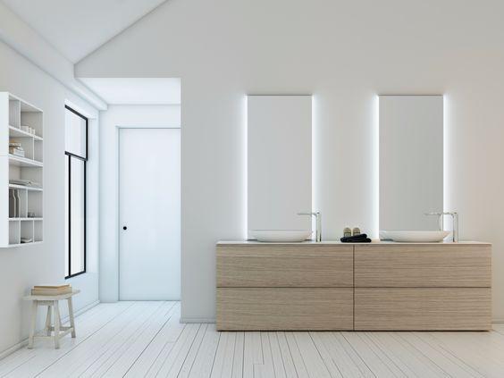 Bathroom furniture set STRATO 23 Strato Collection by INBANI