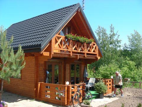 Domek Pietrowy 7x5 Ocieplony Domek 7x5 Domek Letniskowy 5x7 Wd1 Nysa Olx Pl House Styles House Home