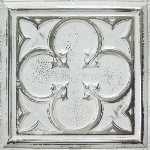 Ux ui designer kitchen back splashes and colors on pinterest - Silver tin backsplash tiles ...