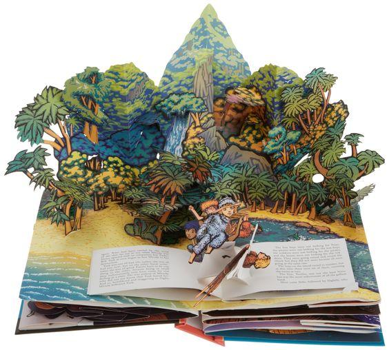 Питер Пэн (Классический Коллекционная Pop-Up): Роберт Сабуда: 9780689853647: Amazon.com: Книги: