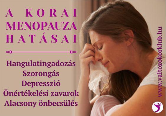 Menopauza fogyni