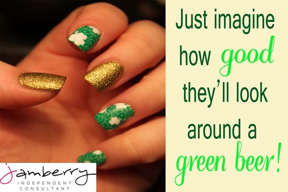 These are so tacky but so is St. Patrick's day-perfect!