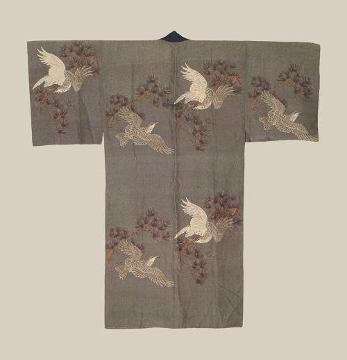 Men's Juban, Taisho period (1912-1927)