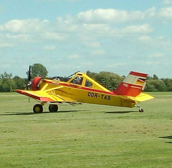 "PZL-106 ""Kruk"", Zwickau, 13.08.2016"