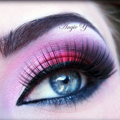 St. Valentine Look by Angie A. Click the pick to see what products she used. #makeup #beauty #valentinesday