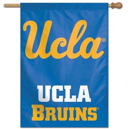 Ucla Bruins Flag Blue House Banner Ucla Bruins Banner Football