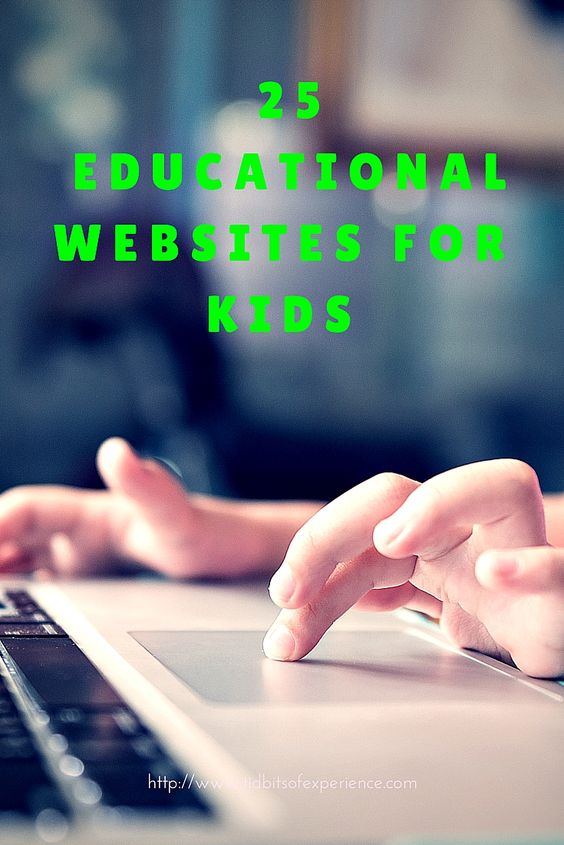 25 Free Educational Websites for Kids - http://www.tidbitsofexperience.com/25-free-educational-websites-for-kids/http://www.tidbitsofexperience.com/wp-content/uploads/2015/07/25-Educational-Websites-of-Kids-.jpg Every year I make sure I do a thorough check on the resources I have available to me to help with homeschooling my kids. I learned in my first year of teaching the kids that I am not always going to be enough for them. I do my best to gather up as many free educationa