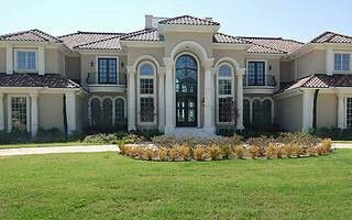 An arrested drug lord's former home in Texas