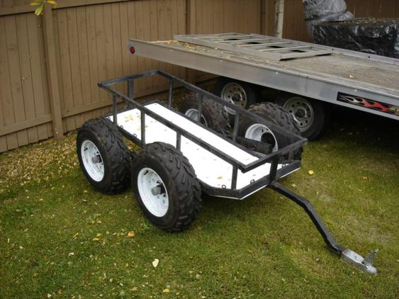 Walking Atv And Trailers On Pinterest