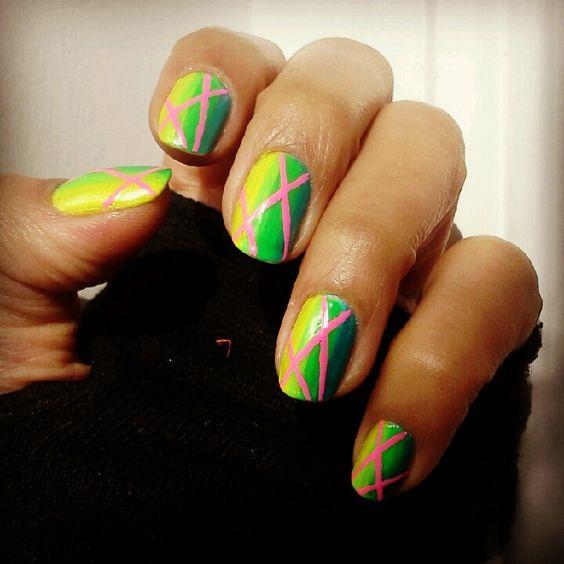 www.bighairgirls.com original nail art swag lasers
