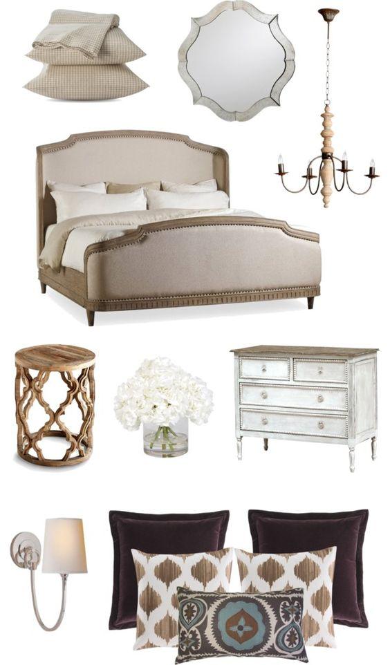 Neutral color inspiration for a master bedroom bloggers Master bedroom color inspiration