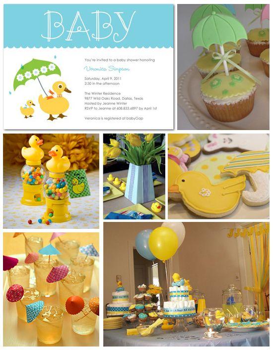 Ducky Shower: Babyshower Birthdaypartyideas, Inspiration Board, Baby Shower Ideas, Baby Ducks, Ducky Baby Showers, April Shower, Baby Shower Themes, Ideas Baby, Duck Baby Showers