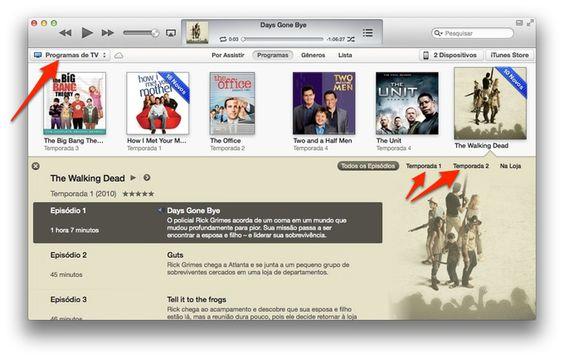 Como organizar seriados no iTunes: guia ilustrado.