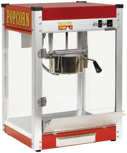 Quick and Easy Gift Ideas from the USA  Paragon TP-4 Theater Pop 4-Ounce Popper Popcorn Machine http://welikedthis.com/paragon-tp-4-theater-pop-4-ounce-popper-popcorn-machine #gifts #giftideas #welikedthisusa