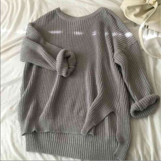 Oversized sweater brandy Melville 20 ON MERC From boho but VERY similar to bm!  thick material // really comfy size large but def fits smaller :) Brandy Melville Sweaters Crew & Scoop Necks