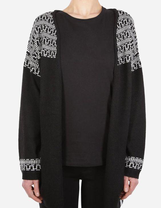 iriedaily - Yma Kimono black