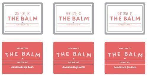 108 Blank Lip Balm Tube Labels In Bulk 2 0625 X 2 15 Labels Print Your Own Lip Balm Labels Lip Balm Tube Labels Lip Balm Labels Template