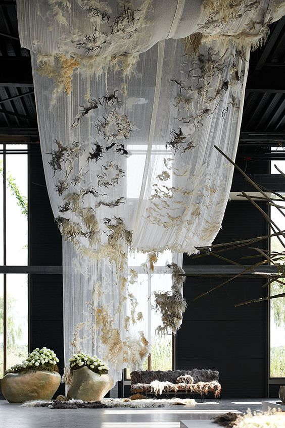 Beatrice Waanders - ViltExpo The Soft World is the label of the Rotterdam felt designer Beatrice Waanders started in 2008