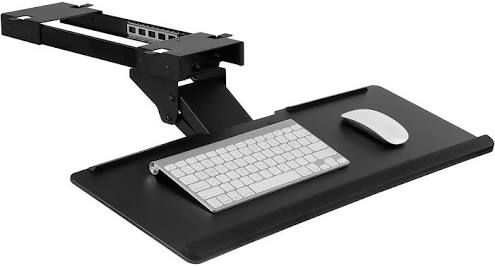 Add A Keyboard Drawer To Desk Computer Desk Computer Keyboard Ergonomics