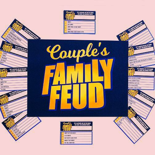 Couple S Family Feud Game In 2020 With Images Family Feud Game
