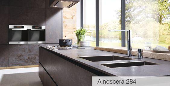 Alno Küche Alnoscera 284 Küchen Pinterest Alno küchen, Küche - kuche arbeitsplatte kabelloses ladegerat