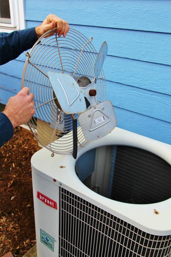 Clean and Prep Your AC Unit Now Before It Gets Hot >> http://www.diynetwork.com/how-to/maintenance-and-repair/cleaning/10-easy-steps-to-keep-your-air-conditioning-unit-running-smoothl?soc=pinterest