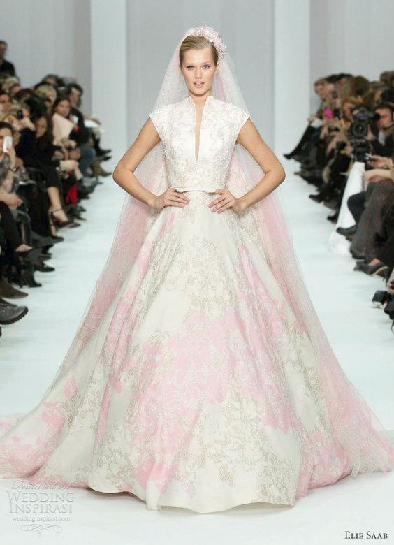 elie saab wedding dresses 2012